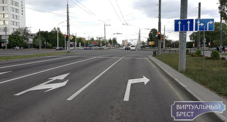 Круг замкнулся... Вернули второй правый поворот с Московской на улицу 28-го Июля