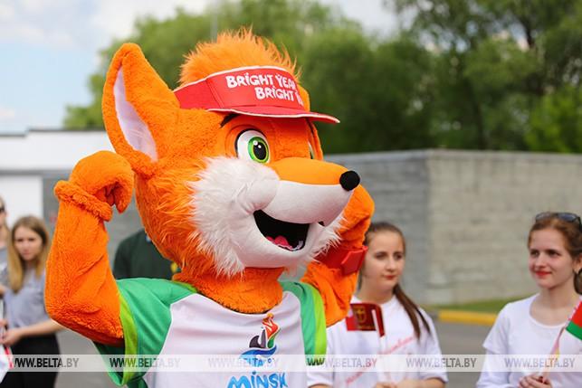 Эстафета огня II Европейских игр прибыла в Беларусь