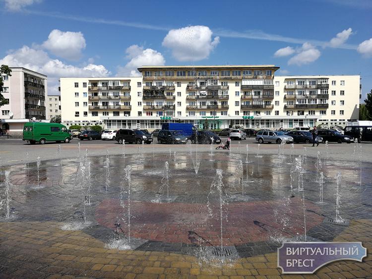 Сезон фонтанов-2019 в Бресте открыт
