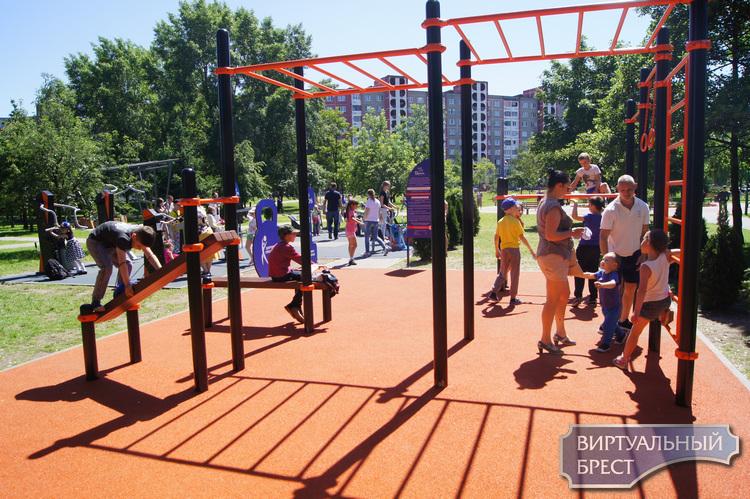 Обновленный парк Мира открыли в Бресте (и вы точно захотите там побывать)