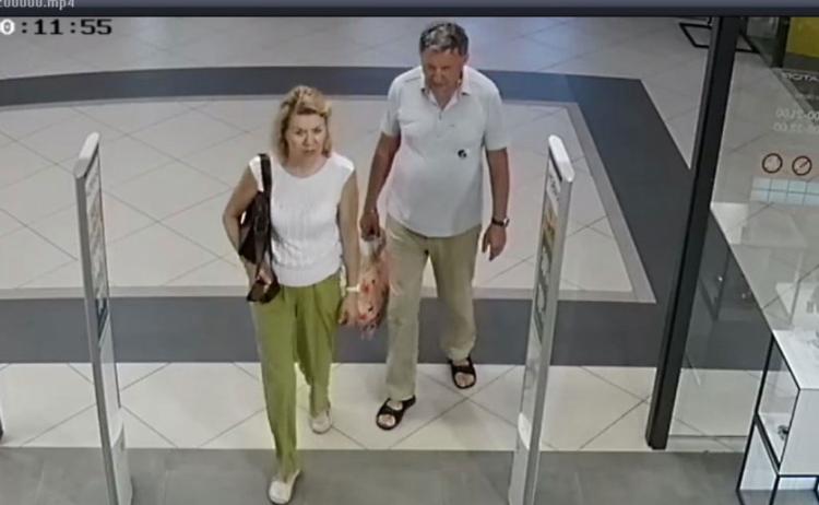 Устанавливаются личности женщины и мужчины, подозреваются в хищении кошелька