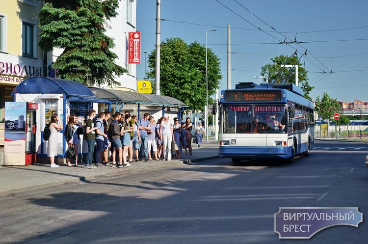 Гости города до сих пор не могут привыкнуть, что конечную остановку троллейбусов перенесли