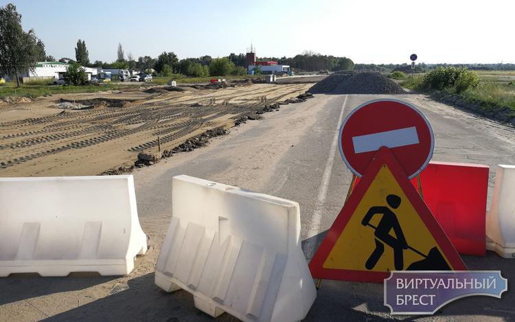 Участок будущей улицы им. Военврача Маслова (выезд на Ковельскую) откроют только к концу 2019 года