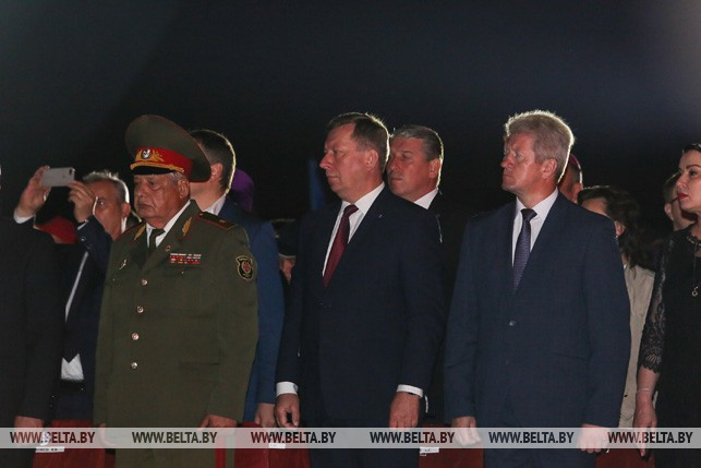 Около 10 тыс. человек стали участниками митинга-реквиема в Брестской крепости