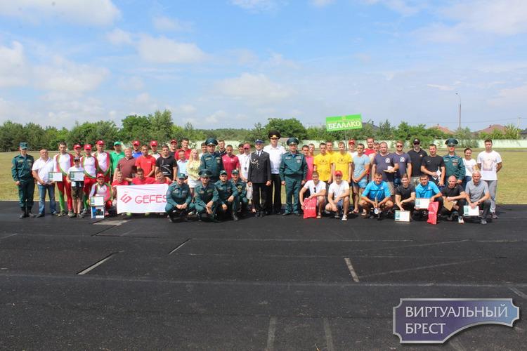 Ежегодные городские соревнования добровольных пожарных дружин предприятий города
