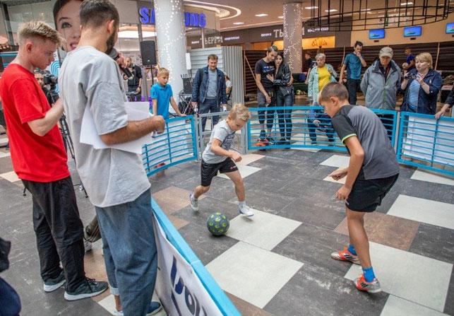 В Dana Mall состоялся чемпионат Беларуси по футбольному фристайлу