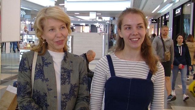 Екатерина Лычева с мамой