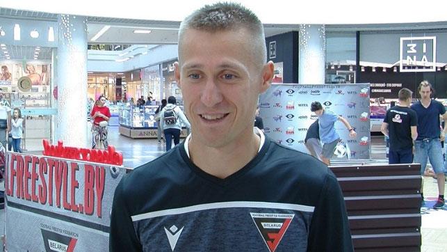 Председатель правления Белорусской федерации футбольного фристайла Кирилл Былинский