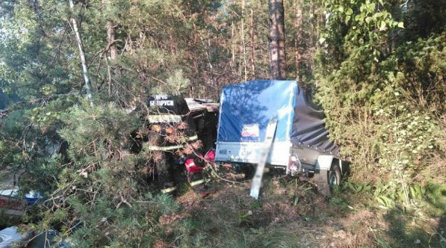 В Барановичском районе при ДТП погибла пассажирка микроавтобуса