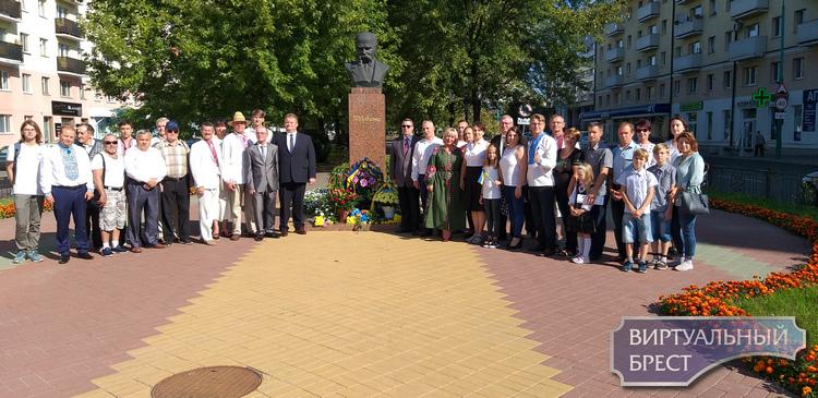 Дзень Незалежнасці Украіны ў Брэсце