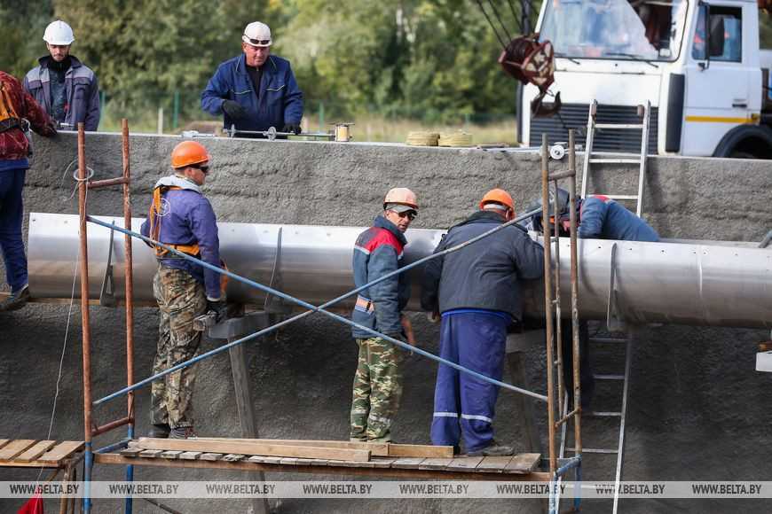 Реконструкцию очистных сооружений Бреста завершат в ноябре