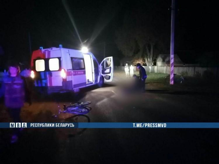 В Дрогичинском районе погиб пешеход, лежащий на проезжей части дороги