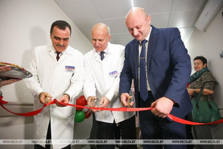 Нейрохирургическое отделение открыли в Брестской областной больнице