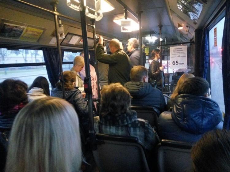 В автобусах №55 объявляют о закрытии маршрута. Что происходит?