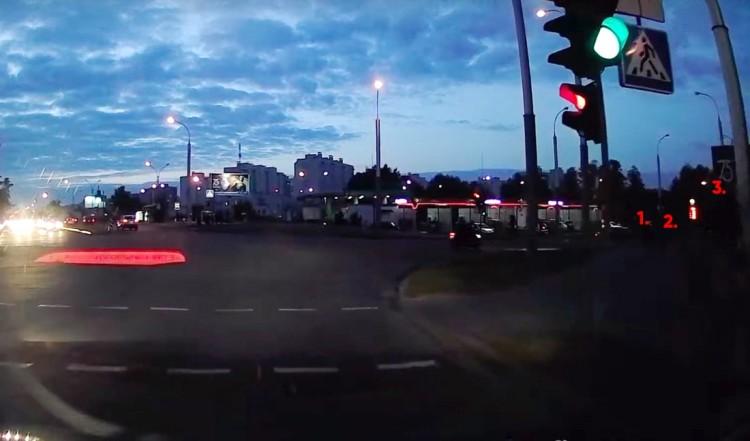 Так был ли непропуск пешехода? Разбор неоднозначной ситуации на перекрестке