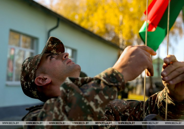 """В Брестской области началось учение разведорганов ОДКБ """"Поиск-2019"""""""