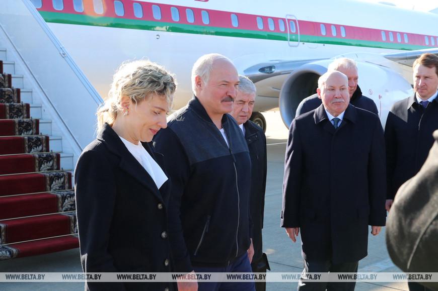 Лукашенко прибыл в Сочи на встречу с Путиным