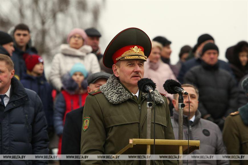 Заместитель председателя Государственного пограничного комитета Беларуси Игорь Печень