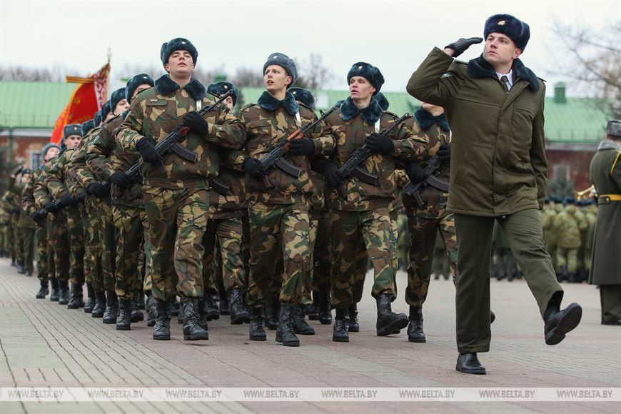 Более 1 тыс. военнослужащих приняли присягу в Брестской крепости