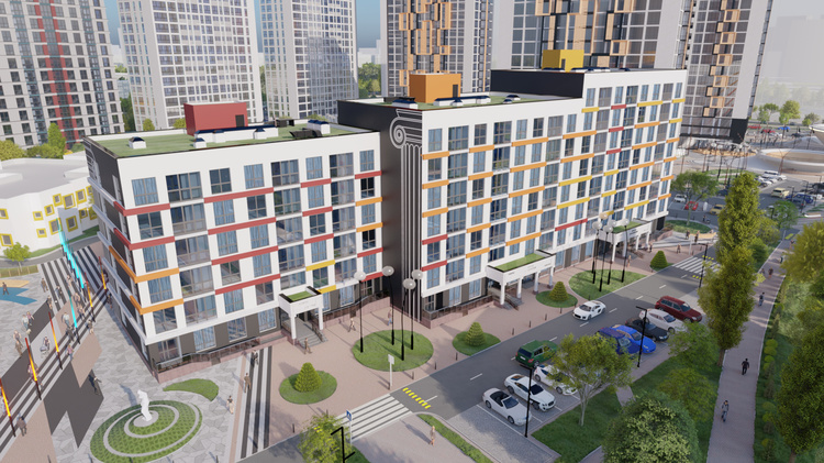 «Киото»: все плюсы современности. Цена в новом минском доме – от 2499 рублей за квадратный метр!