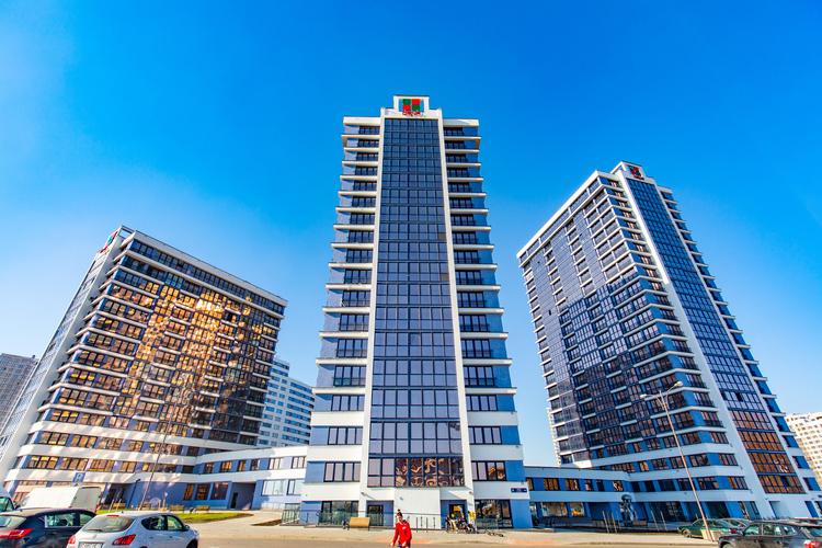 Ваша квартира уже строится! Столичный комплекс «Минск Мир» растёт буквально на глазах