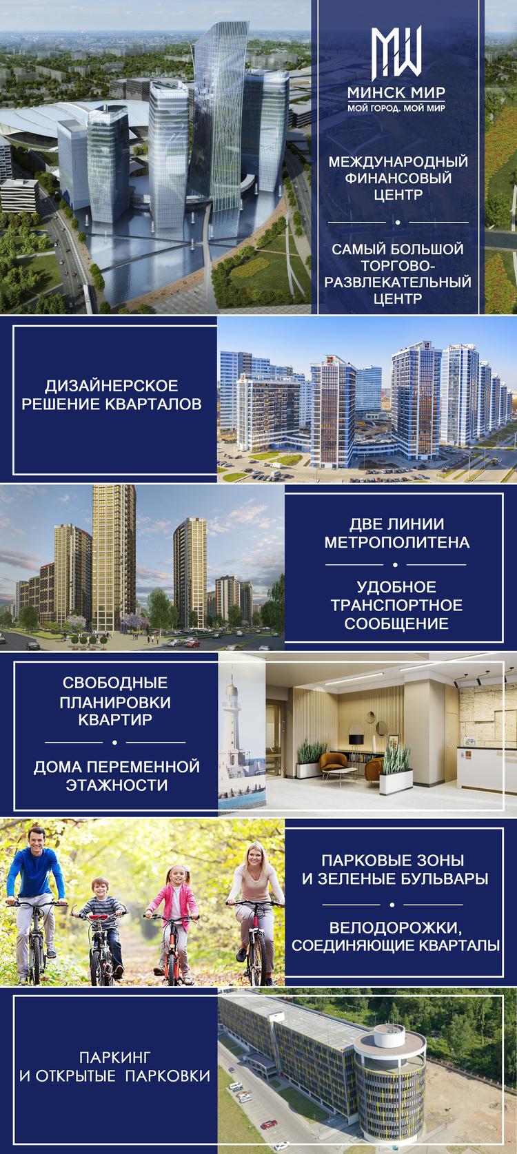 «Ницца»: невероятный спрос! В столичном комплексе «Минск Мир» стартовали горячие продажи квартир в новом доме!
