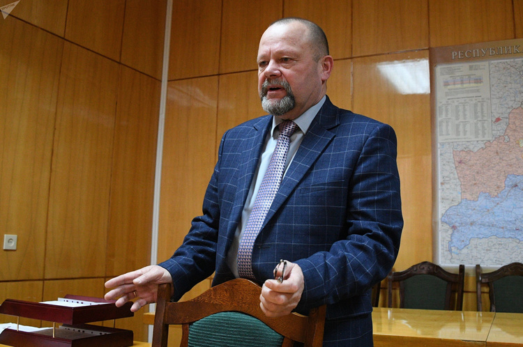 Гендиректор Ивацевичского ЖКХ Александр Кисель