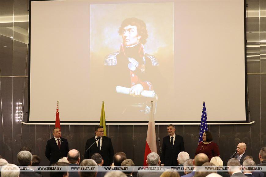 Имя Тадеуша Костюшко важно для Беларуси, США, Польши и Литвы - Макей