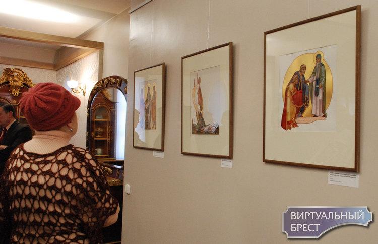 Исаакий Далматский и другие лики… Редкая выставка книжной иллюстрации открылась в Бресте