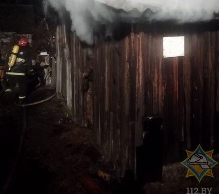 В Брестском районе на пожаре в садоводческом товариществе погиб мужчина
