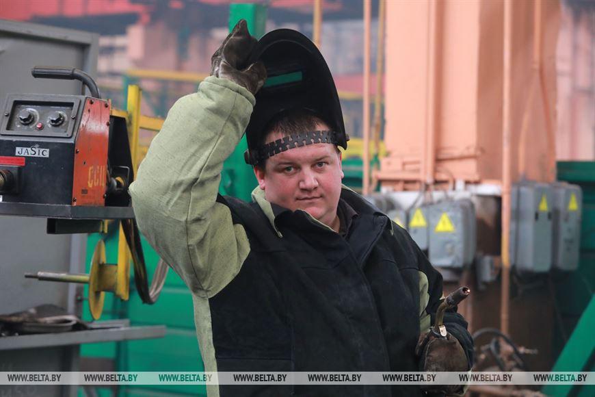 Электро-газосварщик Владимир Шиманский