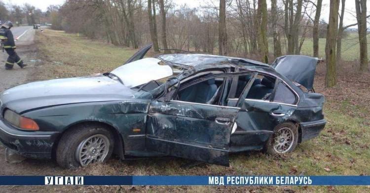Водитель БМВ, которого в субботу деблокировали из автомобиля, был пьян