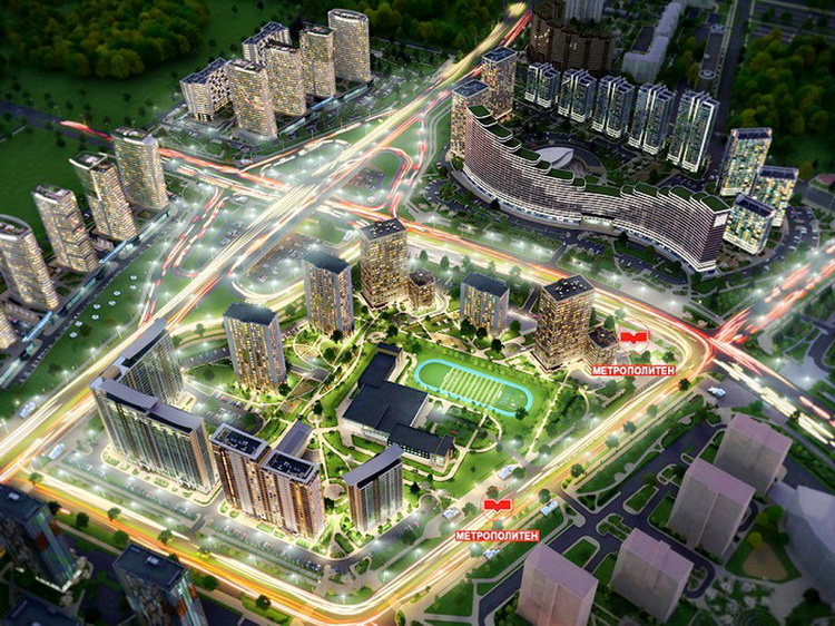 В столичном комплексе «Минск Мир» cтартуют продажи дома с квартирами с полной отделкой!