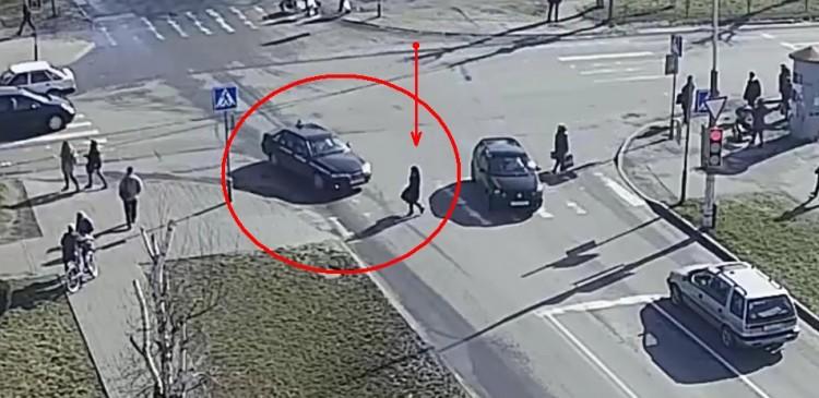 Учебный автомобиль сбил пешехода в Пинске