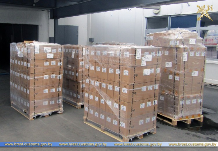 Компьютерные комплектующие на Br700 тыс. пытались ввезти в Беларусь