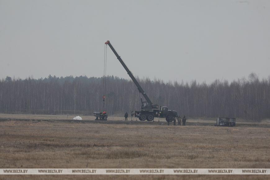 Военные запускали беспилотник, а затем наводили на него отечественную ракету