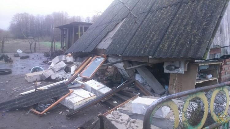 В Каменецком районе взорвалась газовая плита: мужчина получил ожоги