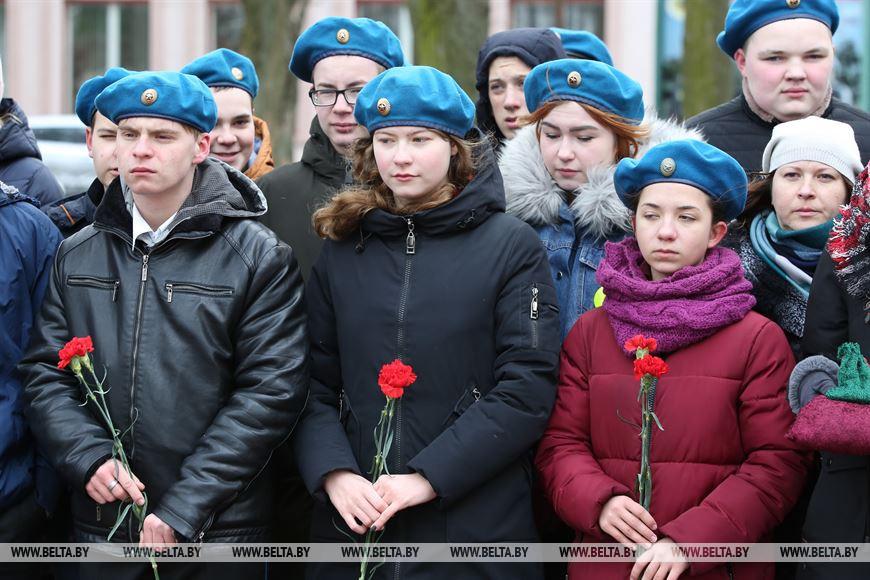 """Международную акцию памяти """"Во славу общей Победы!"""" провели в Березе"""
