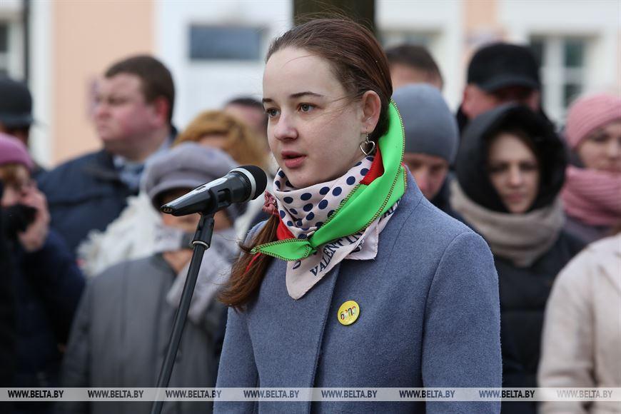 Ученица СШ №2 г.Березы Игнатчик Ульяна
