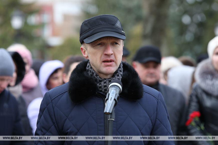 Председатель Совета депутатов Березовского района Александр Петровский