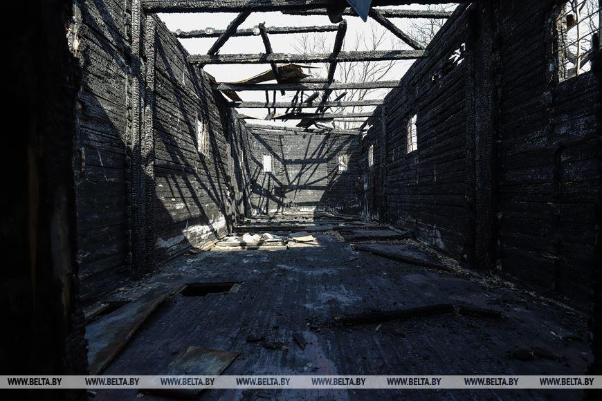 Между небом и землей: судьбу сгоревшей церкви решают в Кобринском районе
