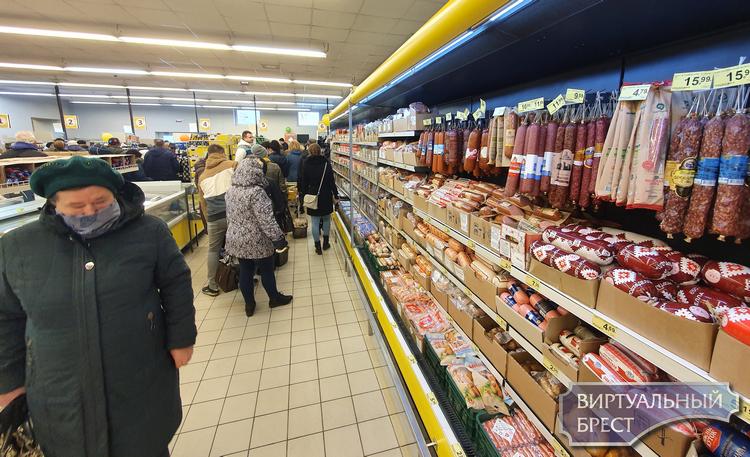 КГК откроет горячую линию по вопросам наличия товаров в торговой сети и роста цен