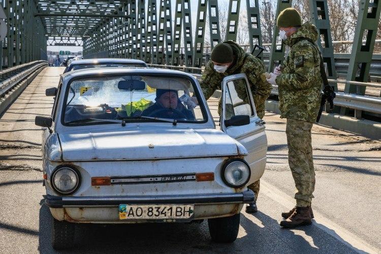 Украина продлевает сроки ограничения работы пунктов пропуска, предварительно до 11 мая