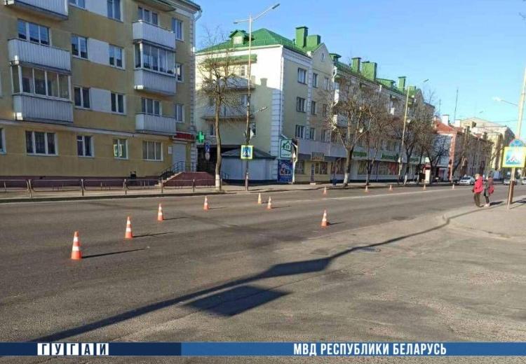 В Барановичах бесправница сбила пешехода и скрылась с места ДТП. Нашли