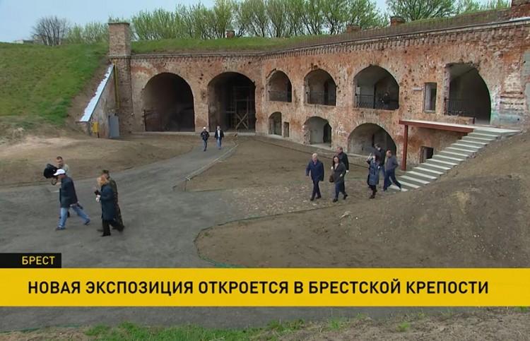 Новая экспозиция в Брестской крепости – там завершается реконструкция Восточного форта