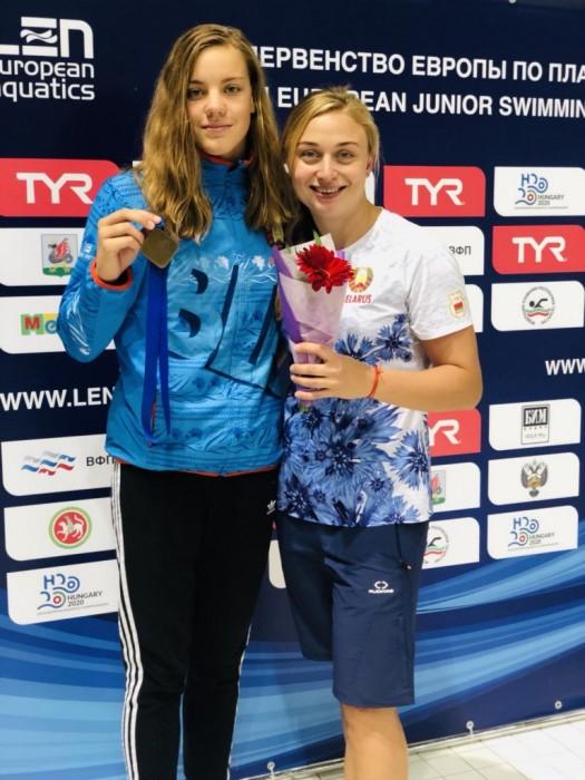 «Человек года Брестчины» Ольга Ясенович: «Плавание — это командный вид спорта»