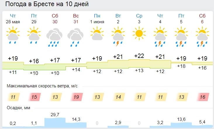 Балканский циклон идёт... Дожди, грозы и сильный ветер ожидаются в Беларуси в выходные