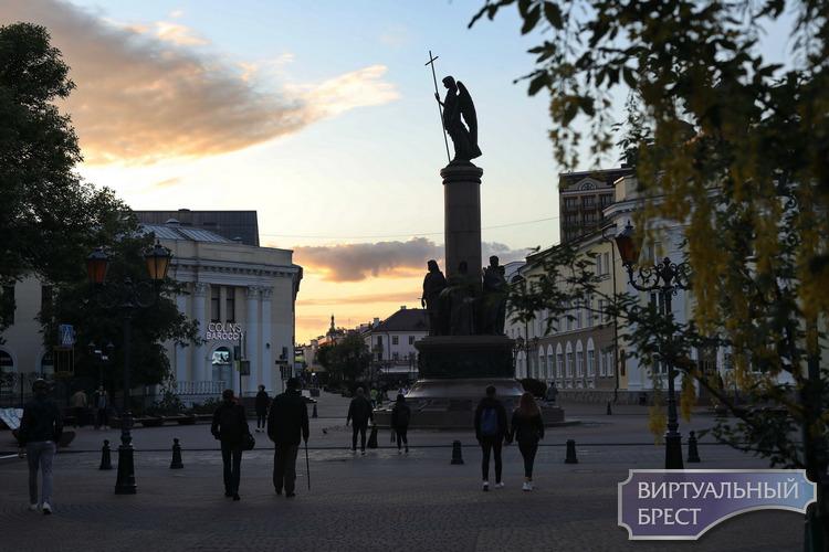 В 10-ом часу вечера на Советской почти улеглись страсти