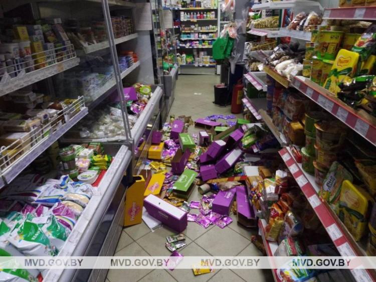 Иностранец пытался обворовать магазин и скрыться на чердаке. Мужчину нашла Орлана