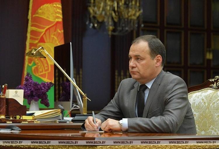 Лукашенко назначил новый состав правительства, премьер-министром стал Роман Головченко